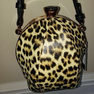 Leopard styled purse